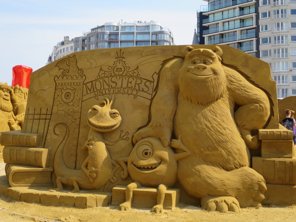 le chateau de sable emma